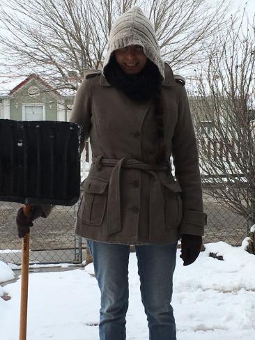Jericha shovelling