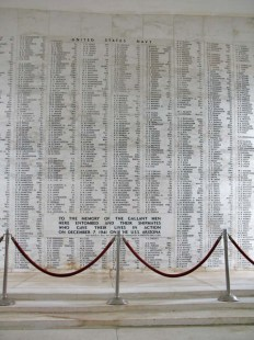 USS Arizona's fallen