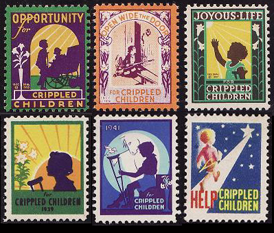 crippled children stamps